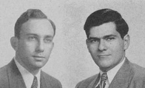 Joseph Woodland and Bernard Silver