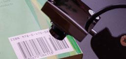 Webcam scanning barcode