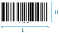 Code 39 Dimensions