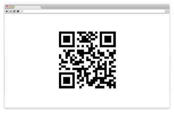 2d barcode from website
