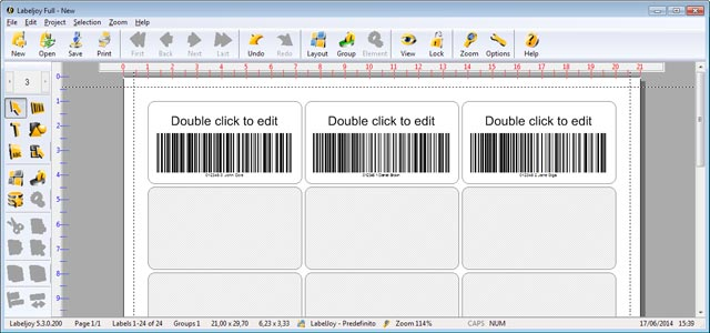Marcode maked with barcode generator software