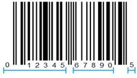 Upc barcode formats