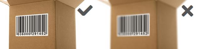 Focus of webcam barcode scanner