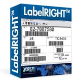 LabelRight Barcode Label Software